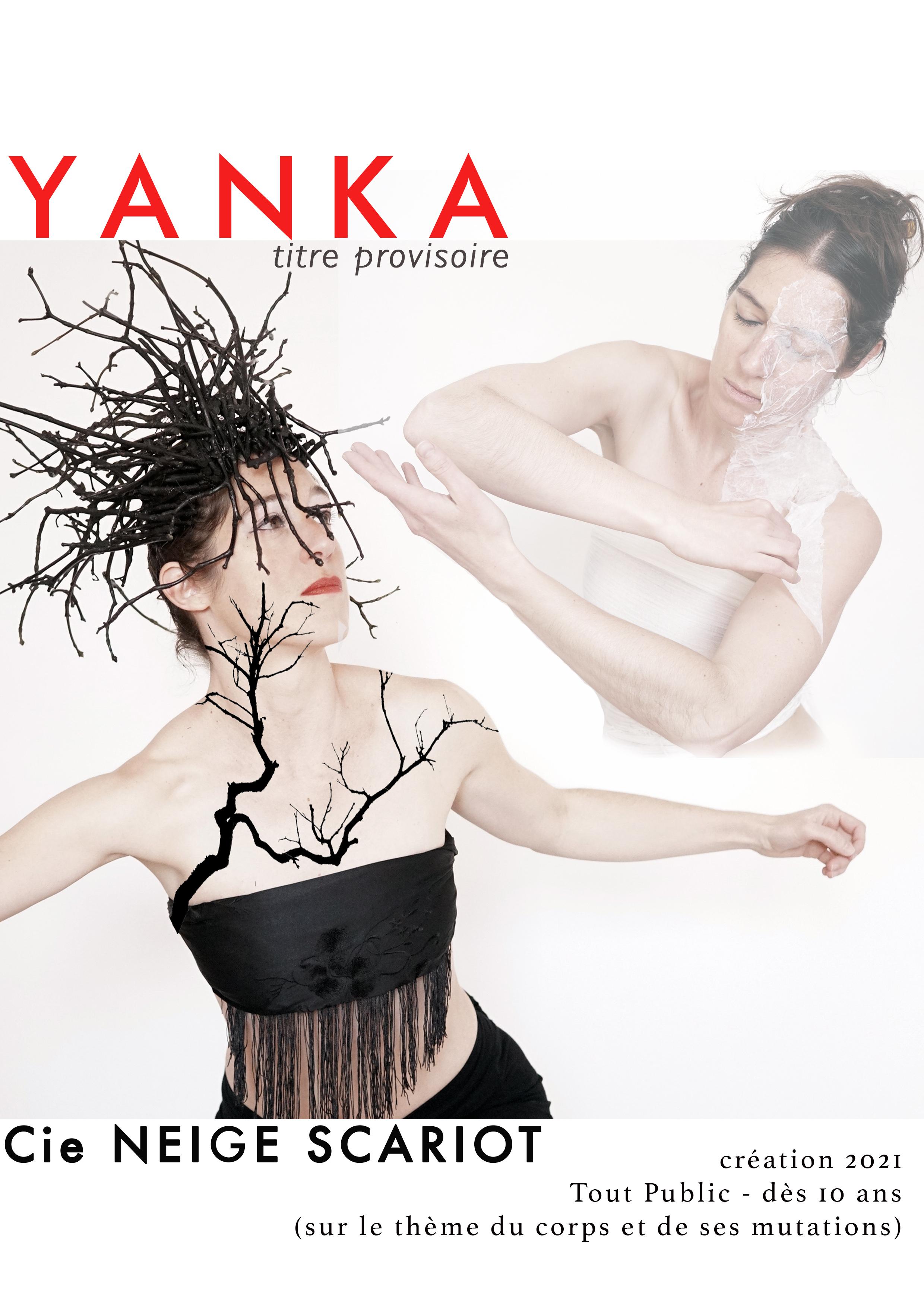 couverture book YANKA